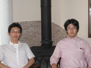kaseさんとkawanoくん。ありがとうございました。これからもよろしくです。