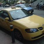 ギリシャのタクシー