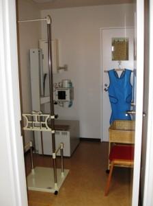 中野胃腸クリニックのX線室
