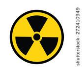 放射線のマークです。