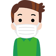新型コロナウイルスにマスクは必要です。